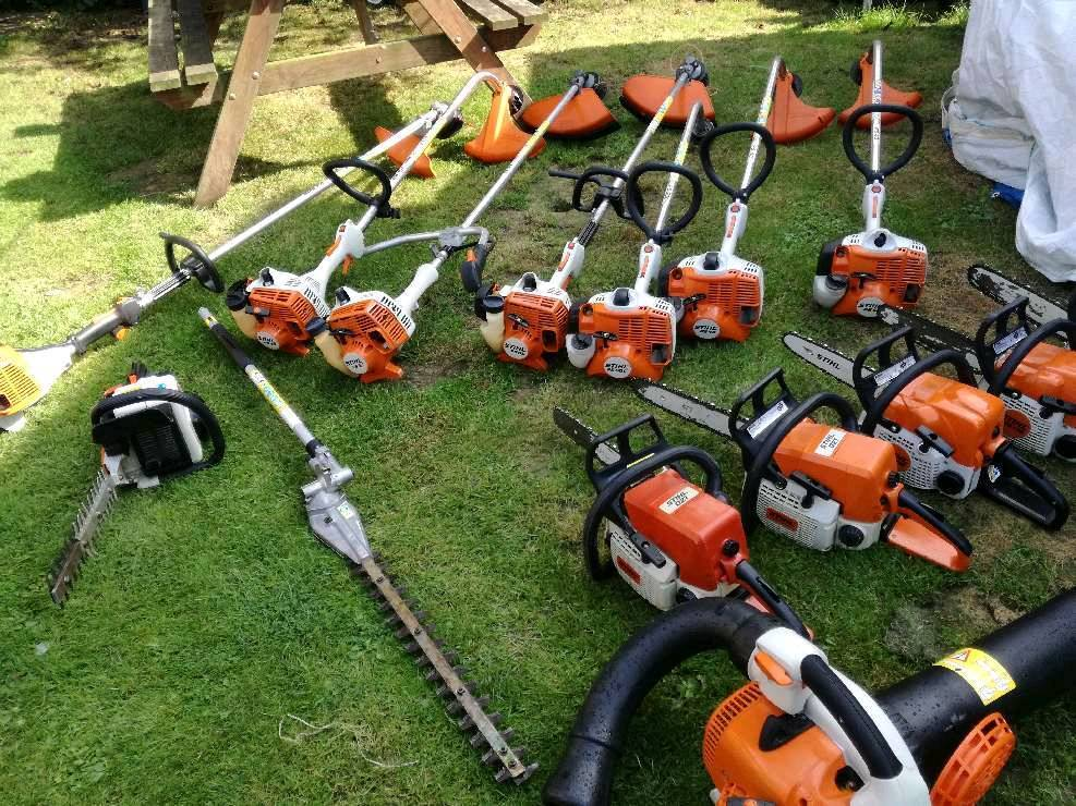 various petrol stihl machinery forsale