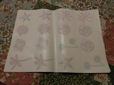 Gorgeous Florals And Greenery Lot Of 11 Sheets New Heat Press Transfers Sale