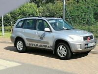 4X4 RAV 4 2002 Toyota RAV4 Silver MARVEL AGENTS OF SHIELD - Reliable & Very Cool Family Car