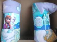 2 frozen blankets