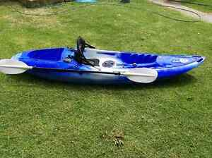 Kayak with paddle and seat Australia Preview
