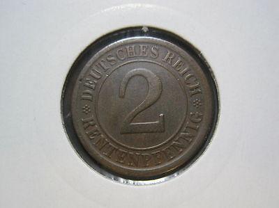Deutsches Reich 2 Rentenpfennig 1924 A (465)