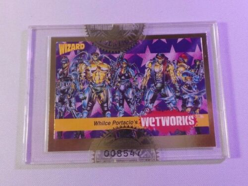 Wizard Press 1992 #8 Whilce Portacio's Wetworks FACTORY SEALED