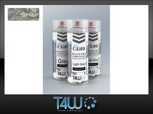 T4W PRO CAMO Military polyurethan paint spray ACU UCP DIGITAL MAT / 3 x 400ml - Lubuskie, Miedzyrzecz, Polska - * Customer satisfaction is our top priority. * We back our products with a 30-DAY SATISFACTION GUARANTEE! * All products being returned must be in unused, pristine condition and in their original packaging. Outdated, used o - Lubuskie, Miedzyrzecz, Polska