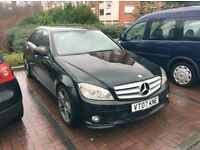 MERCEDES C220 CDI AMG PADDLE SHIFT LHD LEFT HAND DRIVE