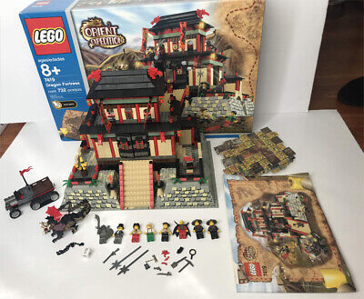 LEGO Orient Expedition Dragon Fortress 7419. Pieces are 99% Complete. USED.