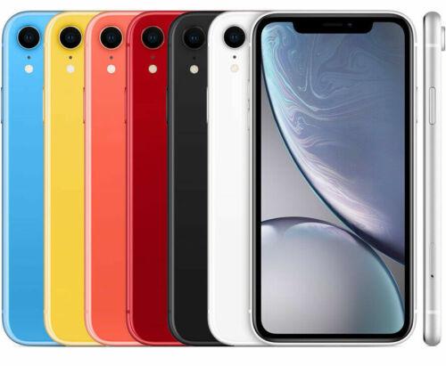 Apple iPhone XR 64GB Verizon T-Mobile AT&T Unlocked Smartphone