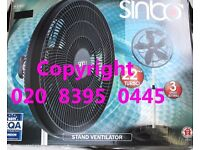 Super Turbo 22 Inch Wide COOLING Tall Floor Standing Oscillating Fan