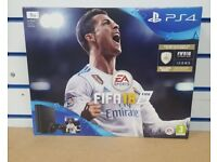 PLAYSTATION 4 FIFA 18 1TB BRAND NEW SEALED WITH WARRANTY & RECEIPT