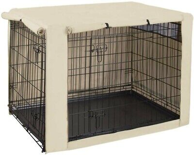 HiCaptain Double Door Dog Crate Cover ( Size: 48 Inch )
