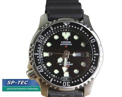 CITIZEN Herren Armbanduhr Promaster Sea Automatik schwarz NY0040-09E