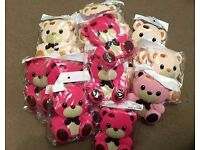 Joblot Clearance of iPhone 5 and 5S Rubber Silicone Teddy Bear Cover Cases Brand New