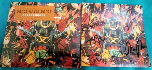 Dance Gavin Dance Signed Afterburner Booklet and Sealed Digipak CD