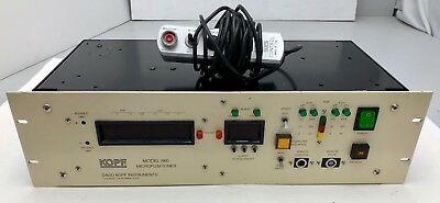 David Kopf Model 660 Micropositioner W Remote Control 100120v 660-a Freeship