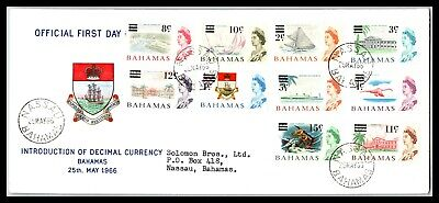 GP GOLDPATH: BAHAMAS COVER 1966 FIRST DAY COVER _CV677_P12