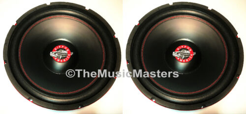 "(2) 15"" inch Home Stereo Sound Studio WOOFER Subwoofer Speaker Bass Driver 8 Ohm"