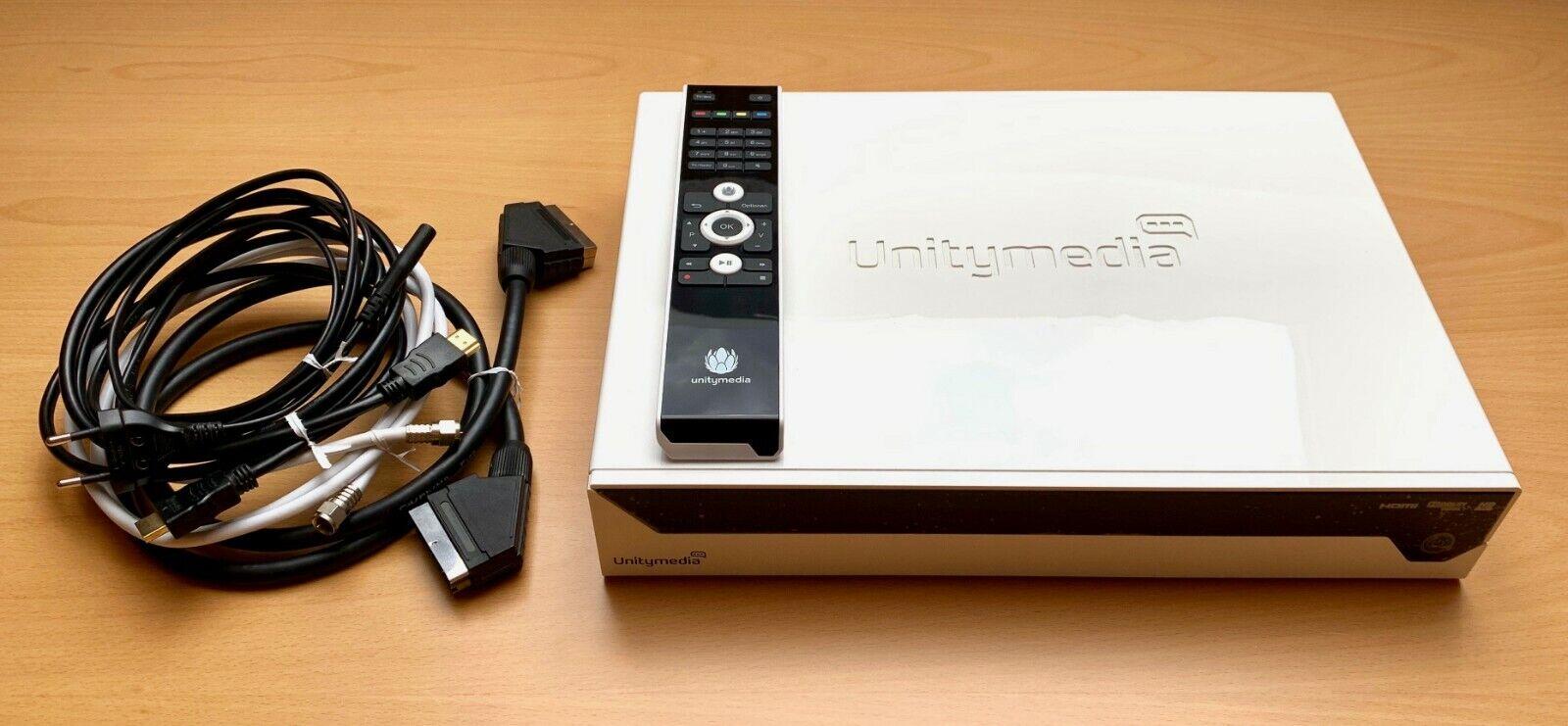 Unitymedia Echostar HDC-601DER-REV A5 HD Kabelreceiver mit 500 GB Festplatte