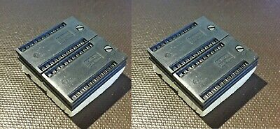 Socket Textool 224-4844 24 Pin Zipzif Socket Srewhead Lock New Lot Of 4
