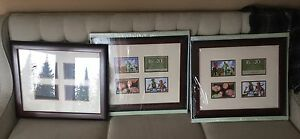 Three Solid Wood Picture Frames