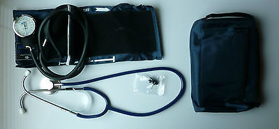 Medical Aneroid Sphygmomanometer Stethoscope Case blood pressure cuff monitor on Rummage