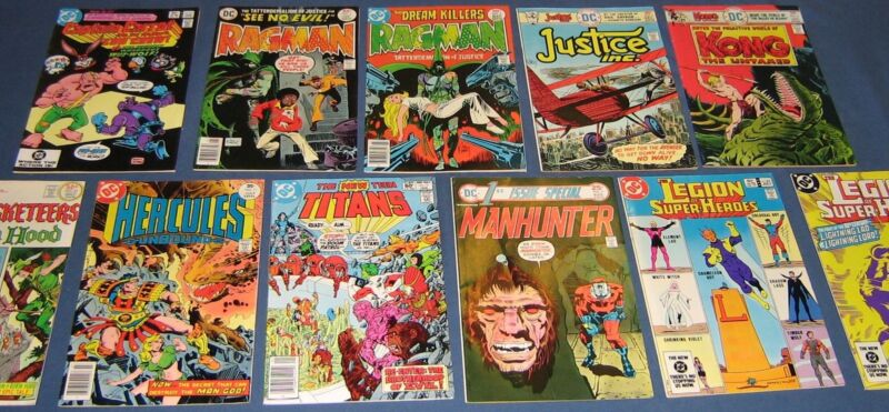 11 Miscellaneous Bronze Age DC Comics