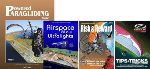 PPG Combo: PPG Bible, Risk&Reward, Tips&Tricks, Airspace: Powered Paragliding