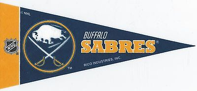 NHL Mini Pennant Collection Decor 4''X9'' Banner Flag Buffalo Sabres Team Buffalo Sabres Team Pennant