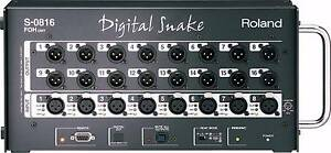 Roland S-0816 FOH Digital Snake Patch Bay, 2 units avaiable. Springwood Logan Area Preview