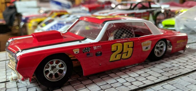 #25 Gary Franzen 1964 Chevelle 1/24th Slot Car Hard Body 4.5 W.B.