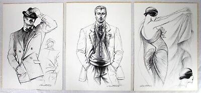 Artist Antonio's View 1979 Coty American Fashion Critics Signed Limited 73 / 500