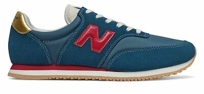New Balance Men's COMP 100 Shoes Blue with Red