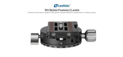【Leofoto USA Seller】Leofoto RH-1L+NP-50 52mm panning clamp