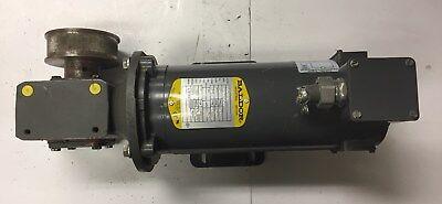 Hp Baldor Dc Motor Cop3330 With Gear Reducer Gf1513ag Loc 66c