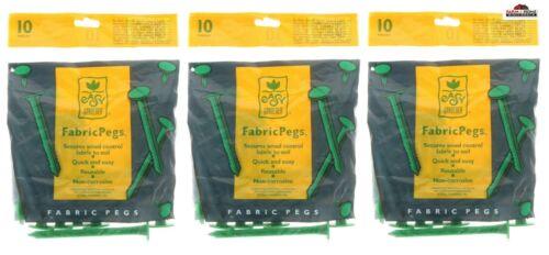 Easy Gardener Landscape Fabric Pegs ~ New
