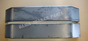 Trailer-Mudguards-Tandem-9-inch-Wide-4-Fold-84-Long-Smooth-Finish-Trailers