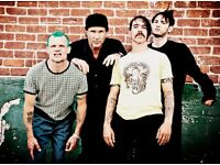 Red Hot Chili Peppers tickets - 5th Dec - London O2 - Block 403