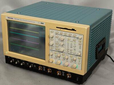 Tektronix Tds7104 Dpo 4-channel 1 Ghz 10 Gss Digital Oscilloscopescope Opt 1m