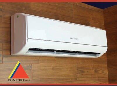 12,000 BTU  Ductlless AC Air Conditioner Heat Pump Mini split 220V 1 Ton confort