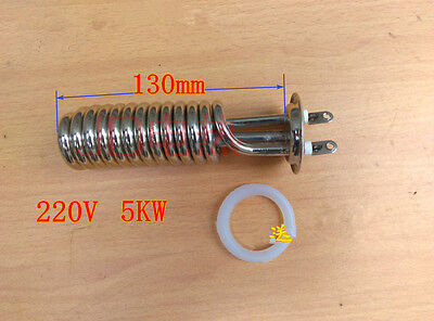 Spiral Tubular Water Heaters Heating Element Tube Heater Ac 220v 5kw 5000w