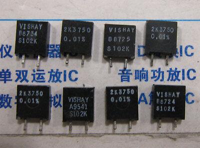 1x 2k3750 Vishay S102k Series Metal Foil Resistors 0.01 2.3750k