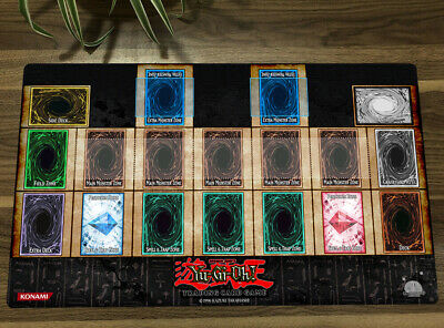 Yu-Gi-Oh! Playmat Master Rule 4 Link Zones CCG TCG Mat Trading Card Game Mat New