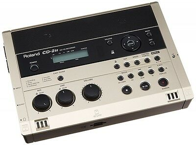 Portable Cd Recorder - Roland Portable SD / CD Recorder Built-in Condenser Microphone CD-2u From Japan