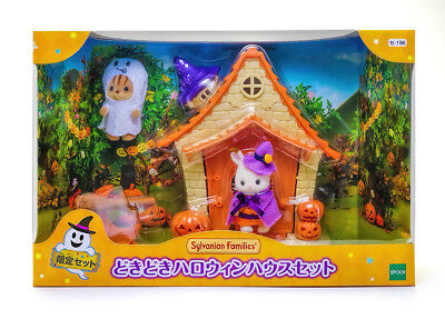 Sylvanian Families Calico Critters Halloween Haunted House Set - Sylvanian Halloween
