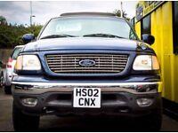 4x4 - Ford F150, Automatic, 5.4 Petrol, 5 Door, 2002