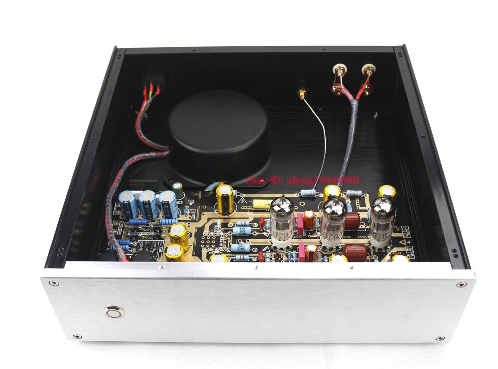 New tube Phono preamp, hiss-like noise and crackling on left channel
