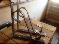 Wrought Iron Scroll Shelf Brackets, Heavy Duty Metal Brackets