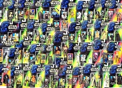 STAR WARS POWER OF THE FORCE CARDED FIGURES (81-121) - ALL MOC - SEE PHOTOS!