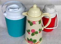 3 Insulated Beverage Containers