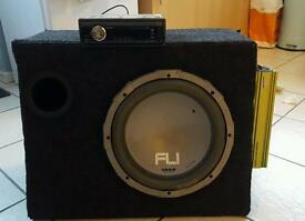 SUB,AMP and CD player with USB