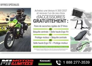 2017 Kawasaki Versys-X 300 ABS SECTION LIQUIDATION VEHICULE NEUF